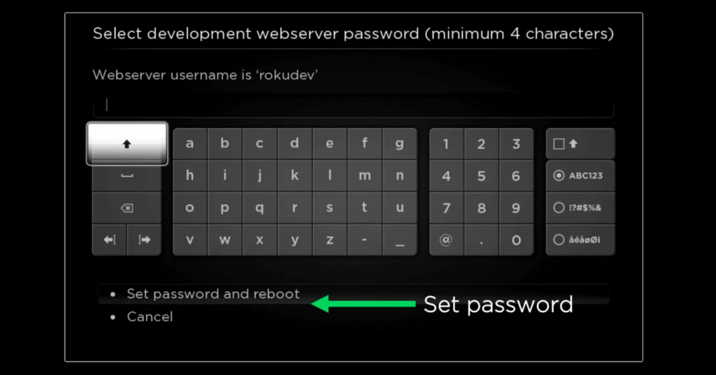 Set Password to watch Channel Pear