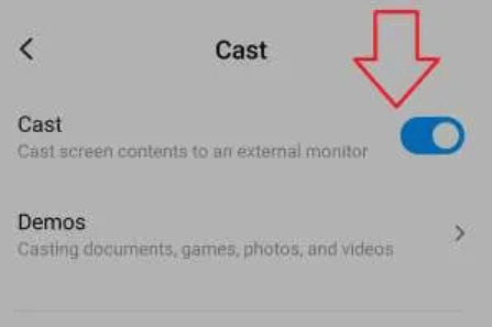 enable cast option to watch Dailymotion on Roku