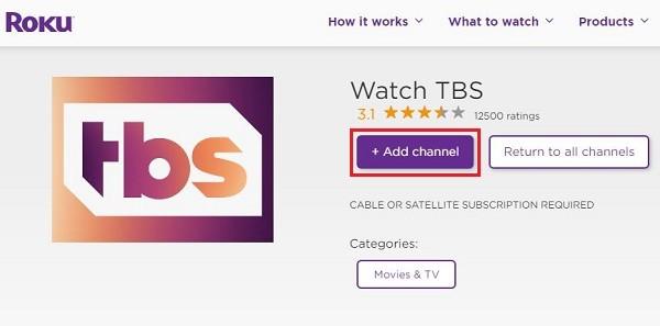 Add channel Big Bang Theory on Roku