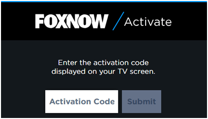 Activate Fox Now on Roku