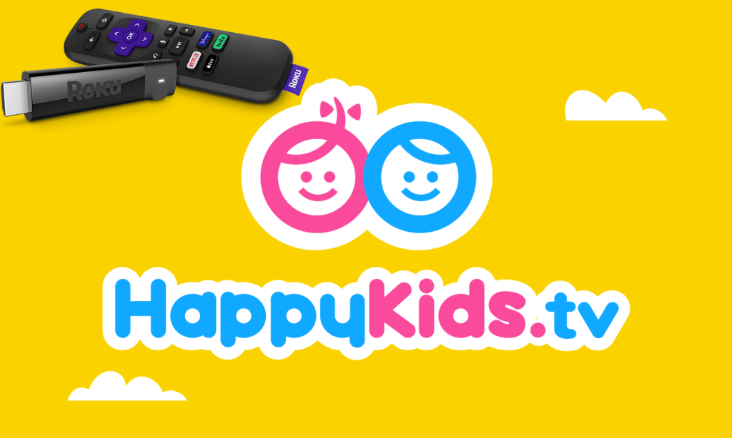 How to Install and Stream HappyKids on Roku TV