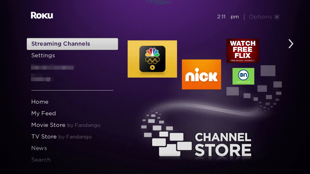 Streaming channels NHL on Roku