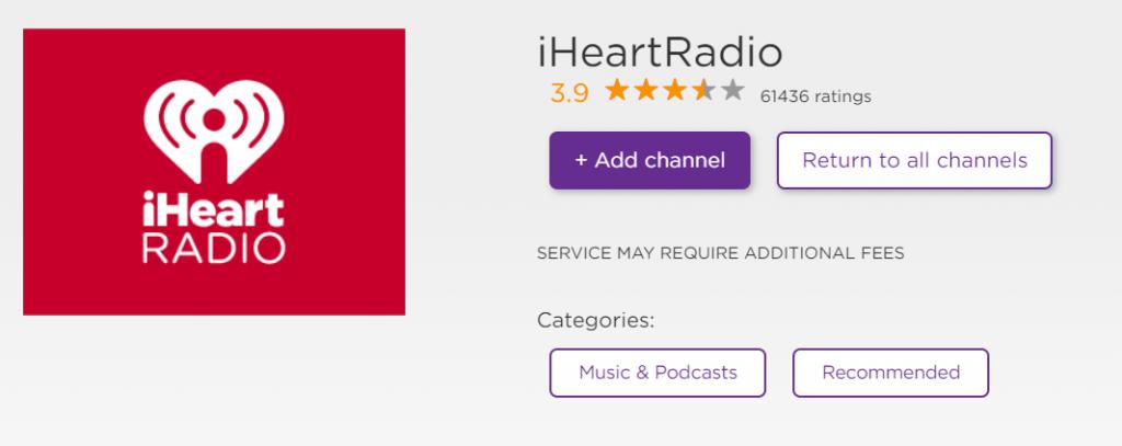 iHeart Radio to Stream Podcasts on Roku