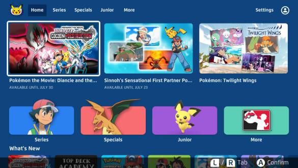 Pokemon TV on Roku
