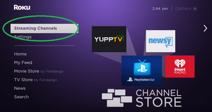 Streaming Channels